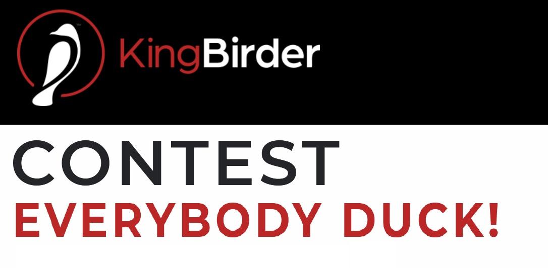 KingBirder Everybody Duck Photo Contest