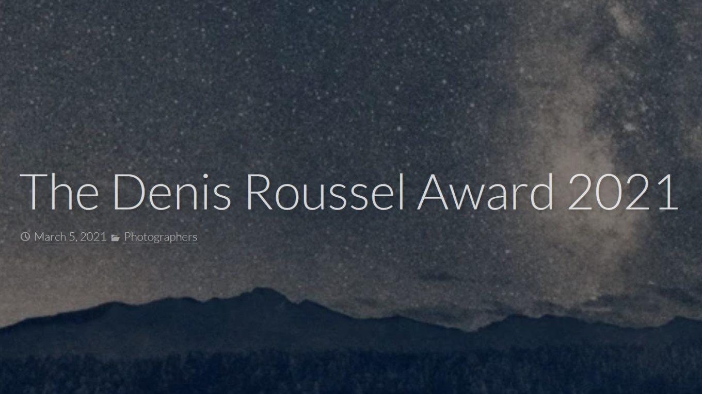 Denis Roussel Award