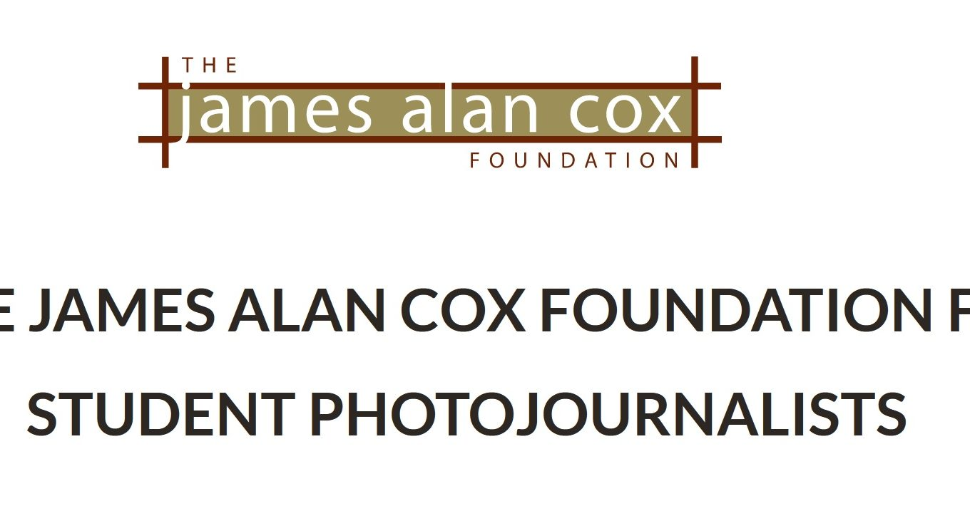 James Alan Cox Foundation for Student Photojournalists